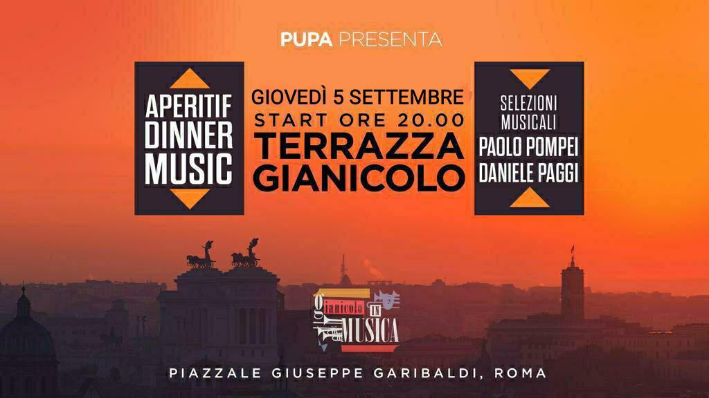 Gianicolo In Musica Giovedi 5 Settembre 2019 Pupa