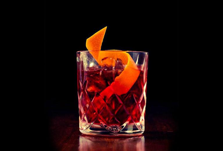 foto cocktail negroni
