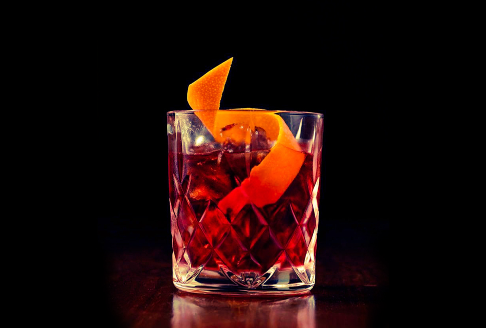 foto cocktail negroni