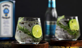 foto cocktail gin tonic