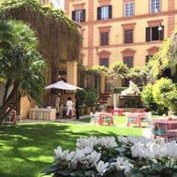 Giardino Rossini Hotel Quirinale Roma 3